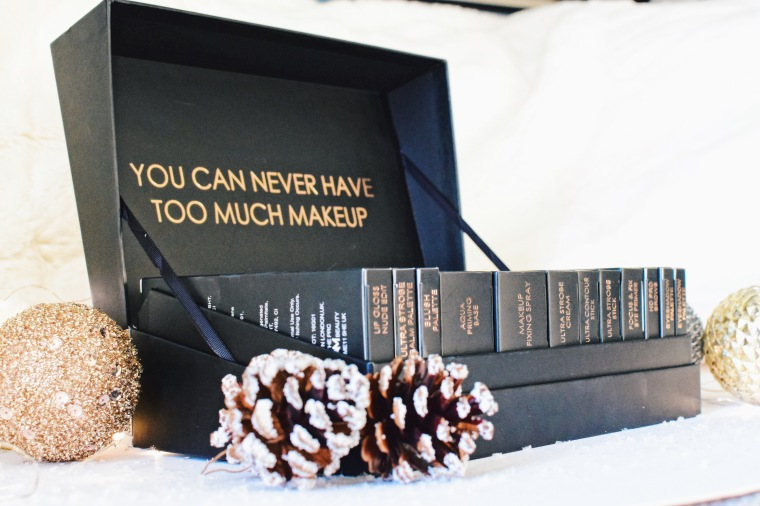 Two Cats One Flat Bristol Lifestyle Beauty Blogger Revolution Makeup Review and Swatches 12 Days Of Christmas Storage Chest