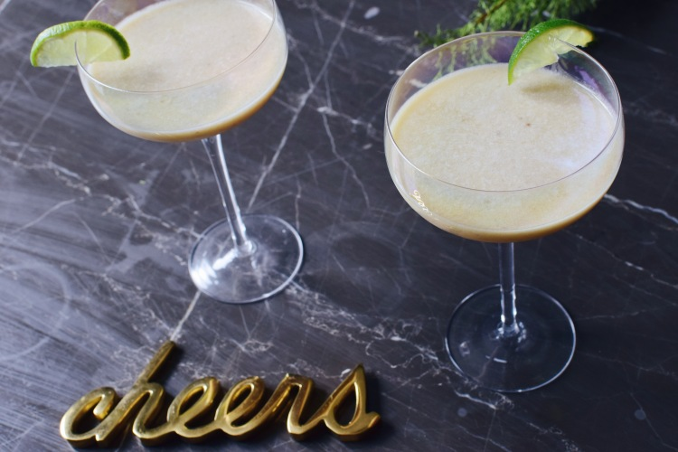 Two Cats One Flat Bristol Beauty Fashion Blogger Banana And Chai Daiquiri Summer Cocktail Recipe