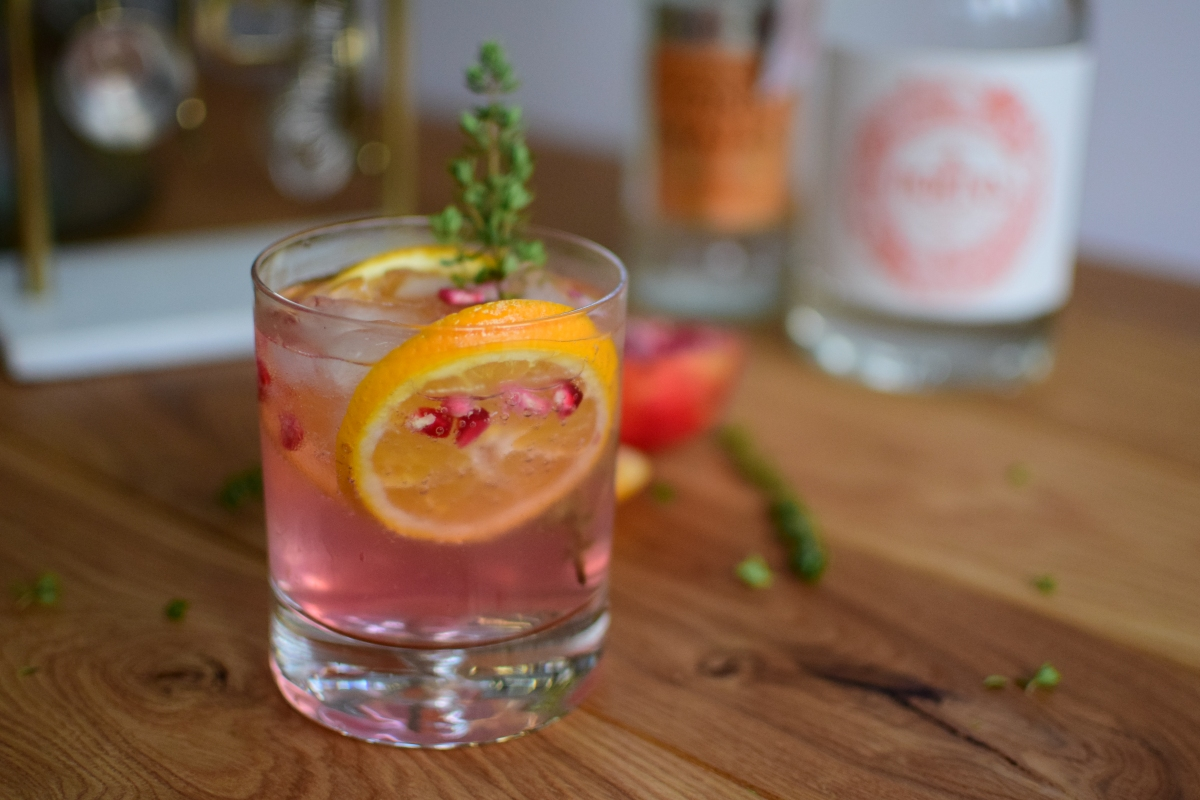 Winter Warming Gin Cocktail
